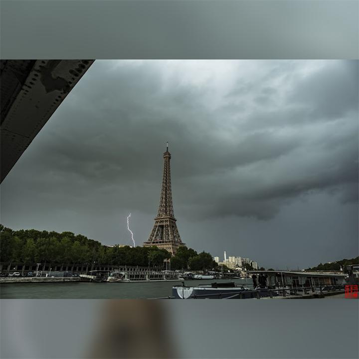 France-Paris-Thunderstorm