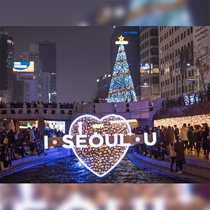 ChristmassSeoulByNight